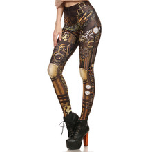 Leggings Women Steampunk Retro Leggings Comic Cosplay Print Gothic Strerchy Skinny Pants Leggings Sweatpants Trousers Clothes-in Leggings from Women's Clothing on Aliexpress.com | Alibaba Group