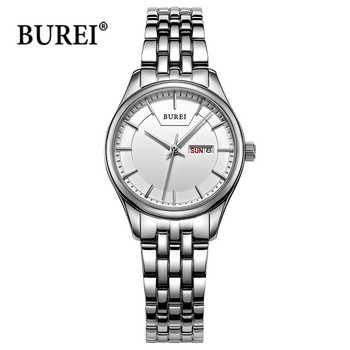 Reloj Mujer BUREI Ladies Watches Womens Top Brand Luxury Waterproof Fashion Quartz Wrist Watch Clock Women saat Relogio Feminino