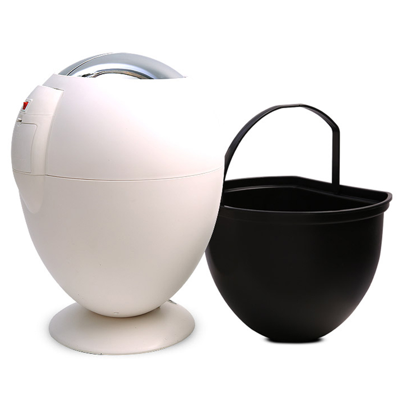Neue Mode 6L Induktive Typ Mülleimer Smart Sensor Automatische Küche Und Wc Mülleimer Edelstahl Abfall Bin 3 farben-in Abfallbehälter aus Heim und Garten bei  Gruppe 1
