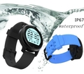 Спорт Плавание Водонепроницаемый IP67 F8 Bluetooth Smartwatch Наручные Часы Smart Watch Для Apple iPhone Android Монитор Сердечного ритма Часы