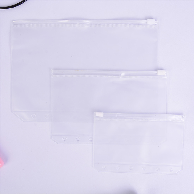 1PC A5/A6/A7 Transparent Storage Bag School Office Supplies File Holder Clear Bag Document Organization