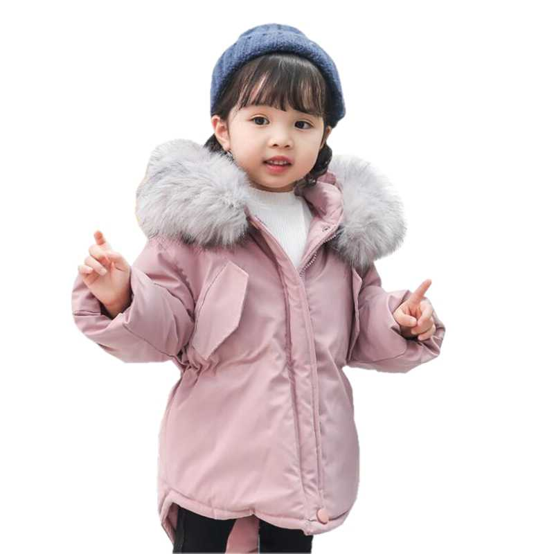 1ddba4773 Detail Feedback Questions about HH Girls winter coat parka real faux ...