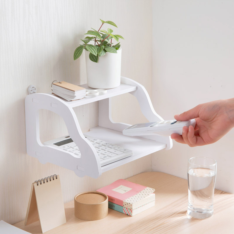 Creative DIY wooden WIFI TV top boxes storage racks background wall decoration racks wall shelf home organizer shelves. rak dinding minimalis diy