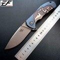 Alta calidad CH 3504 cuchillo plegable S35VN hoja de acero cuchillo de bolsillo TC4 de titanio con rodamiento de bolas camping cuchillo