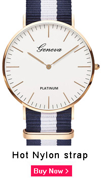 Relógio de Pulso Quartzo de Marca Topo Moda Casual