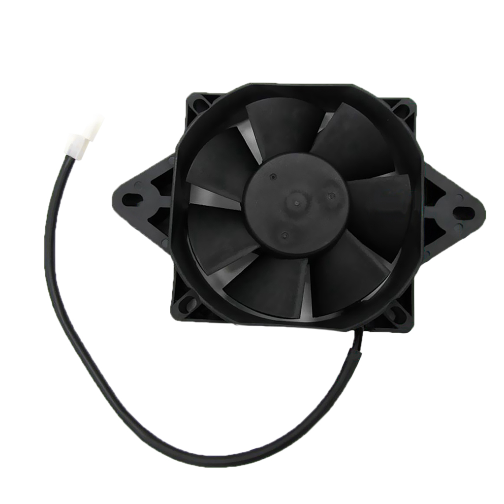 6 Inch 12V Radiator Electric Cooling Fan for 150c 250cc Motorcycle Quad Dirt Bike ATV Buggy