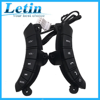 100% fit High Quality For Great Wall Hover H3/H5 Multi function Steering Wheel Audio Control Buttons with back light