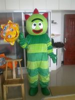Yo Gabba Gabba mascot costume party costumes custom mascot fancy customized mascot dress amusement park outfit