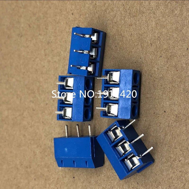 Free shipping 500pcs lot KF301 3P terminal 5 08mm splicing Best quality