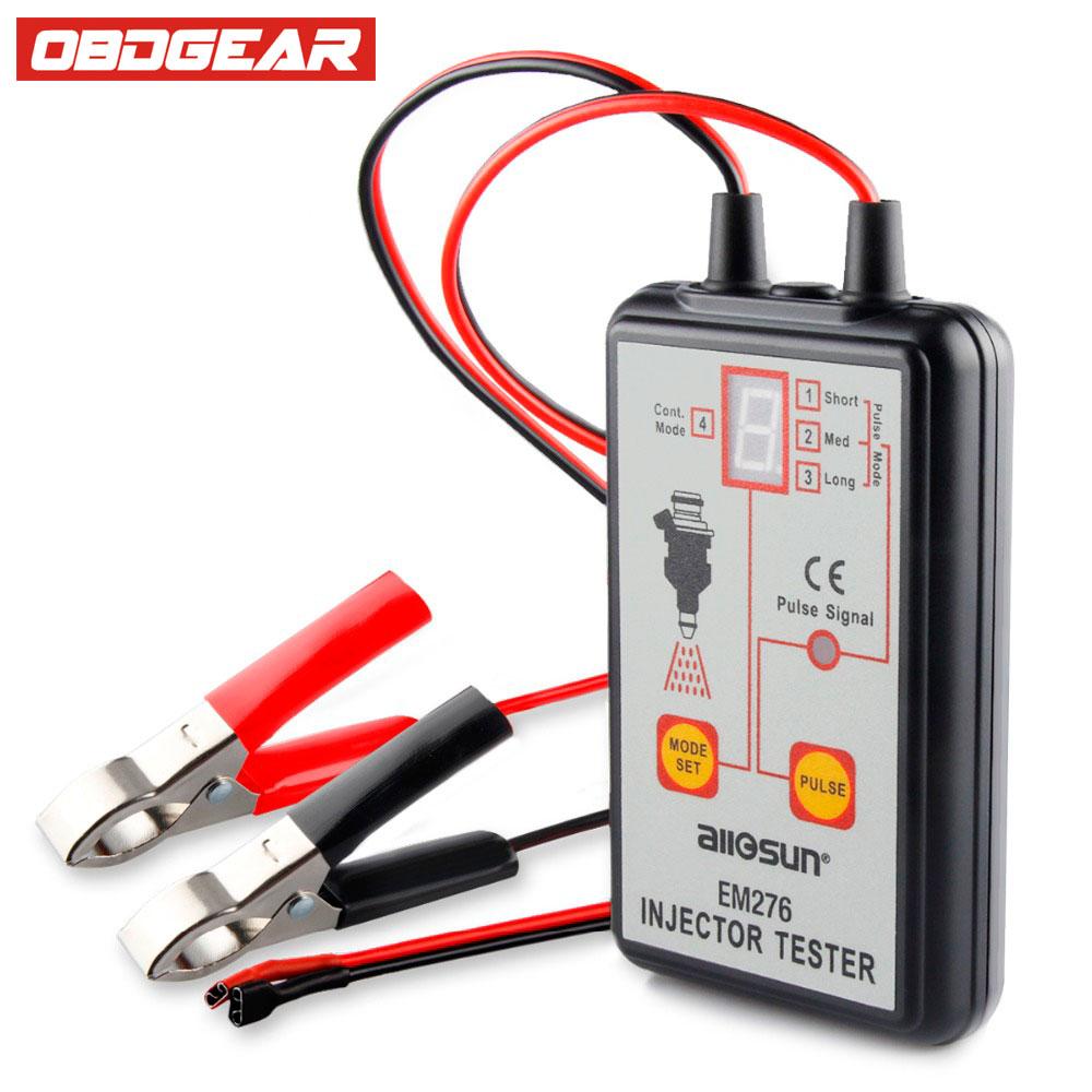 Оригинальный Инжектор топлива тестер em276 топлива Системы сканирования инжектор анализатор Авто Диагностический ремонт Инструменты с 4 реж...