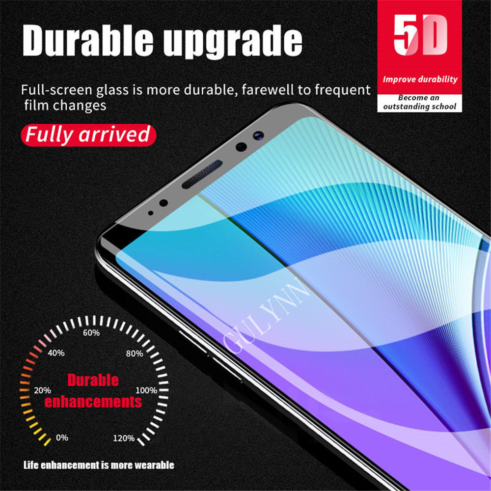 5D Real Full Cover Tempered Glass For Samsung Galaxy J2 3 4 5 6 7 8 Pro Pime 2018 9H Upgrade Screen Protector For A8 A6 Plus in Phone Screen Protectors from Cellphones Telecommunications