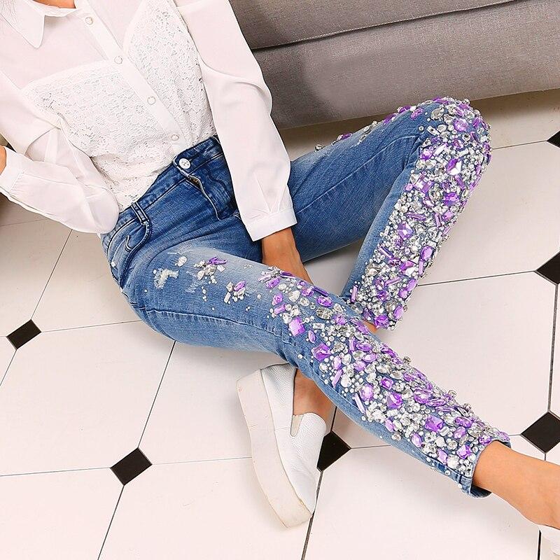 фото джинс с камнями можете