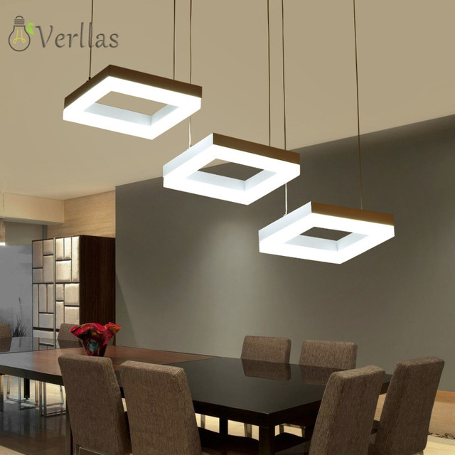 AC90-260V modern led pendant lights for dining room living room suspension luminaire LED pendant lamp fixture Dimmer Home lights