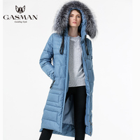 Gasman Warm Women Thick Down Parka Woman Winter Coats And Jackets Plus Hooded Women Brand Jacket Overcoats With Natural Fur