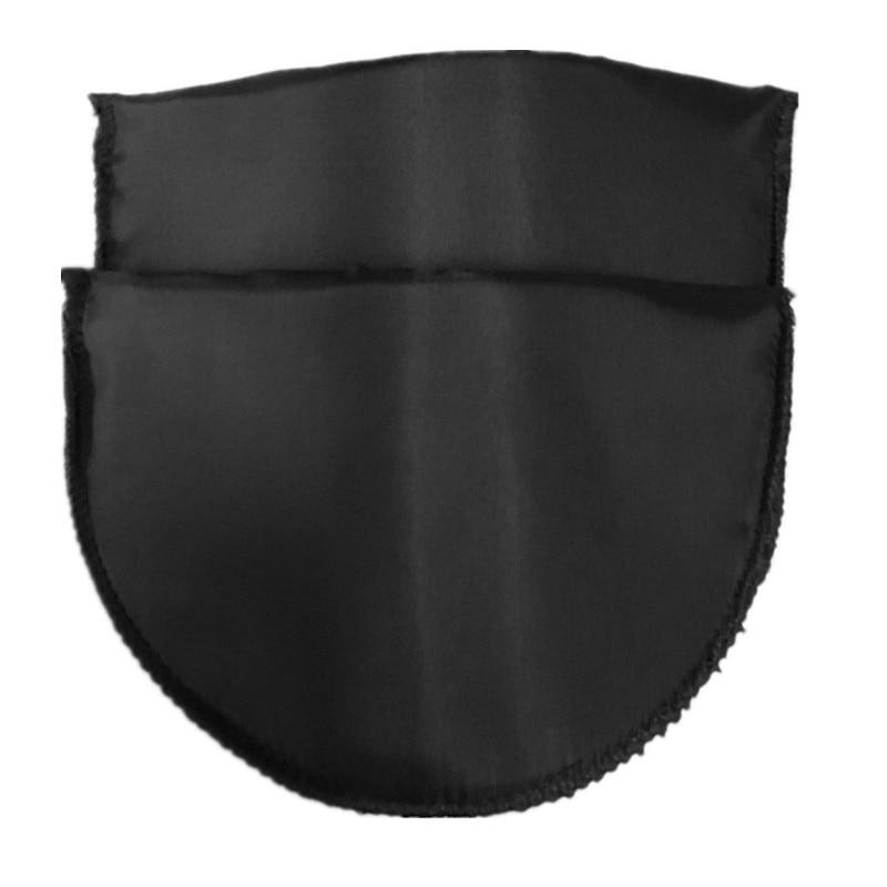 1 пара Высококачественная губчатая Наплечная подкладка для женщин блейзер футболка ветровка одежда аксессуары около 16*10*1 см - Цвет: black