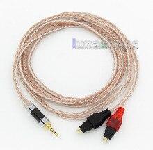 16 ядер occ Посеребренная смешанный кабель для наушников Sennheiser HD25-1 SP HD650 HD600 HD580 HD525 LN005678