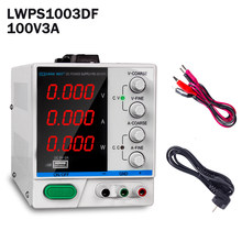 100V3A DC Power Supply Repair Tool LED Digital Regulators Lab Adjustable Power Source Switching Voltage Switchmode LWPS1003DF(China)