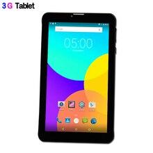 BDF 7 Inch Q706 Original  6.0 Android phone tablet 1024*600 Quad Core Built-in 3G 1GB RAM 16GB ROM External 3G LCD Tablet pc