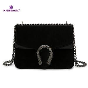 KAISIMAN Women Design Shoulder Bags Leather Lady Handbags 8c67fd2e4444e