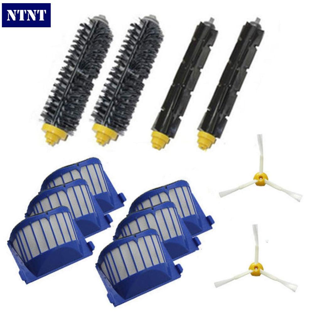 NTNT Free Post New Aero Vac Filters Brush for iRobot Roomba 600 Series 620 630 650 660 670 Vacuum ntnt free shipping new 6 x brush 6 arms aero vac filter for irobot roomba 600 series 620 630 650 660