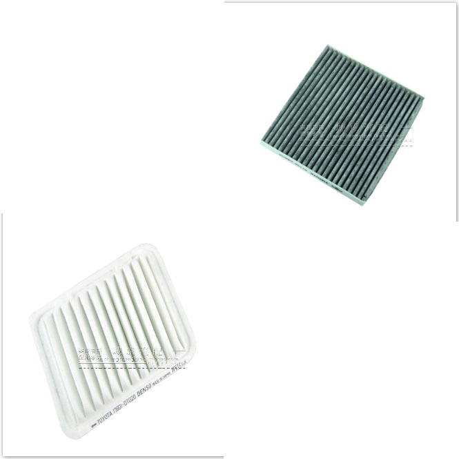 Quality Engine Air Filter&Cabin Air Filter fit for Toyota Highlander Camry 2007-2011 Oem:17801-20040 87139-06060/0N010