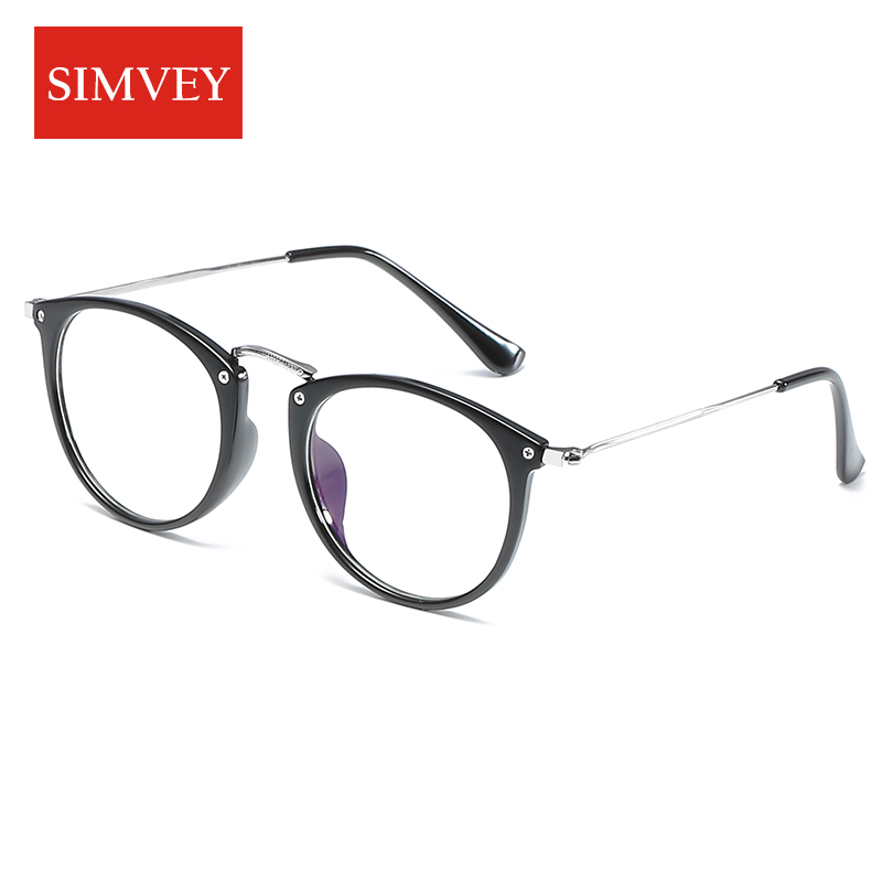 Simvey 2017 Fashion Computer Glasses Anti Blue Light Glasses Retro Korean Fake Glasses Frames For Women Men Gaming Glasses