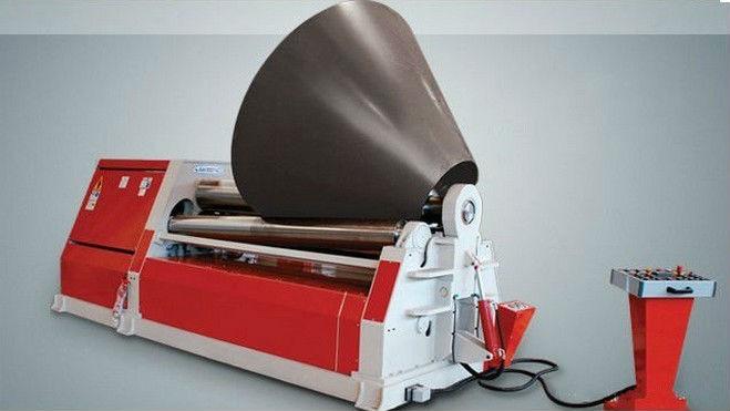 4 Roller Aluminum Plate Bending Machine 4 Roller Sheet