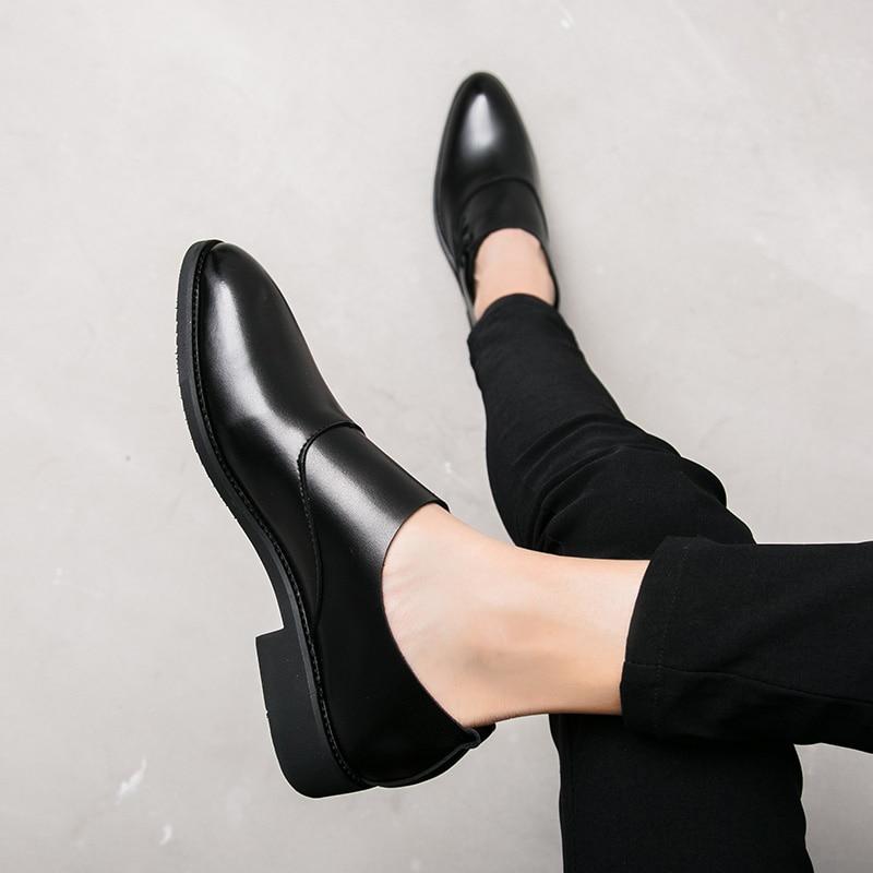 Apontou De Northmarch Los Hombres Chegadas Confortáveis Toe Couro Zapatos Dos Novas Sapatos Oxford Vestido Preto Homens Negócios Twr6qYvTxg