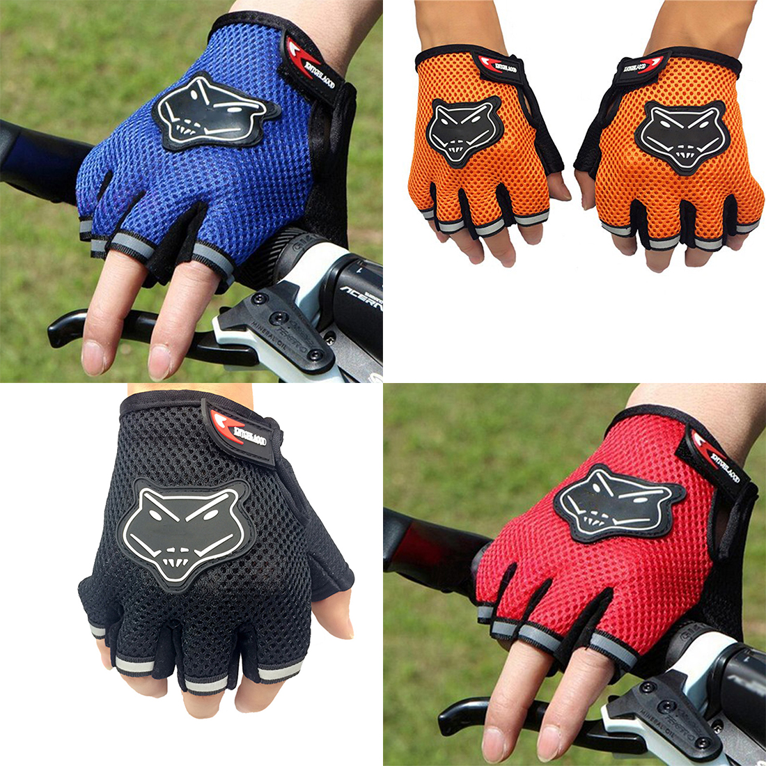 Hompo Ladies Gloves Bodybuilding Fitness Weight Lifting: Sports Gym Gloves Men Fitness Training Exercise Anti Slip