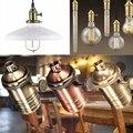 Base de luz E26/E27 Sólida Base Da Lâmpada de Soquete Suporte Da Lâmpada Base da Lâmpada De Edison Lâmpada Industrial Do Vintage Pingentes 3 Way Knob