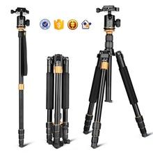Q999S kaamera statiivile aluminum digital camera tripod better than Q666 Q999 fit for camcorder folded 360mm