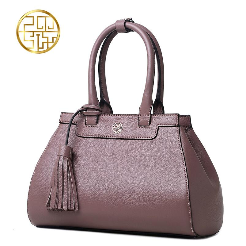 Famous brand top quality dermis women bag    2016 new tassel handbag Leisure Shoulder Messenger Bag famous brands top quality dermis women bag fashion leisure travel women shoulder bag leather crocodile pattern backpack