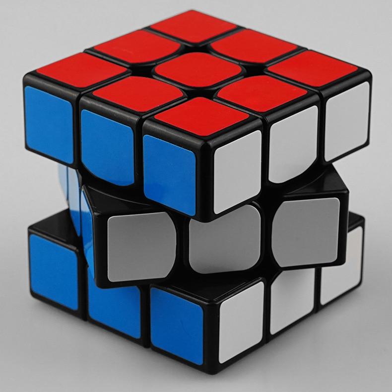 Clasic colorat 3x3x3 Trei straturi Magic Cube Profisional - Jocuri și puzzle-uri - Fotografie 6