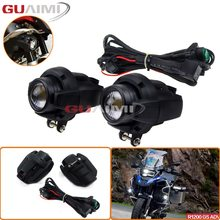 Driving Aux Lights Combination For BMW R1200GS ADV F800GS F700GS F650FS R1150GS