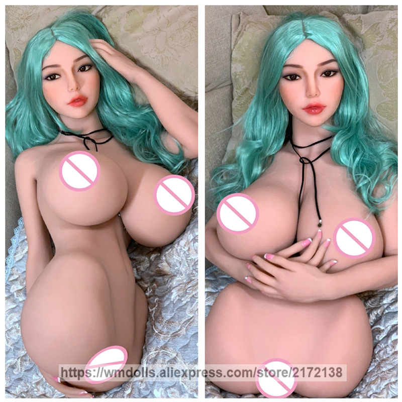 WMDOLL <font><b>85cm</b></font> Torso <font><b>Sex</b></font> <font><b>Doll</b></font> Realistic Silicone <font><b>Sex</b></font> Robot <font><b>Dolls</b></font> Lifelike Huge Breast Real Vagina Pussy Adult Toys image