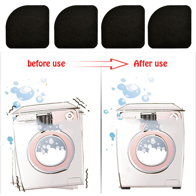 Stand for A Washing Machine Anti-Vibration Pad Shock Pads  for Washing Machine Non-slip Mats Refrigerator Multifunctional 4pcs 3