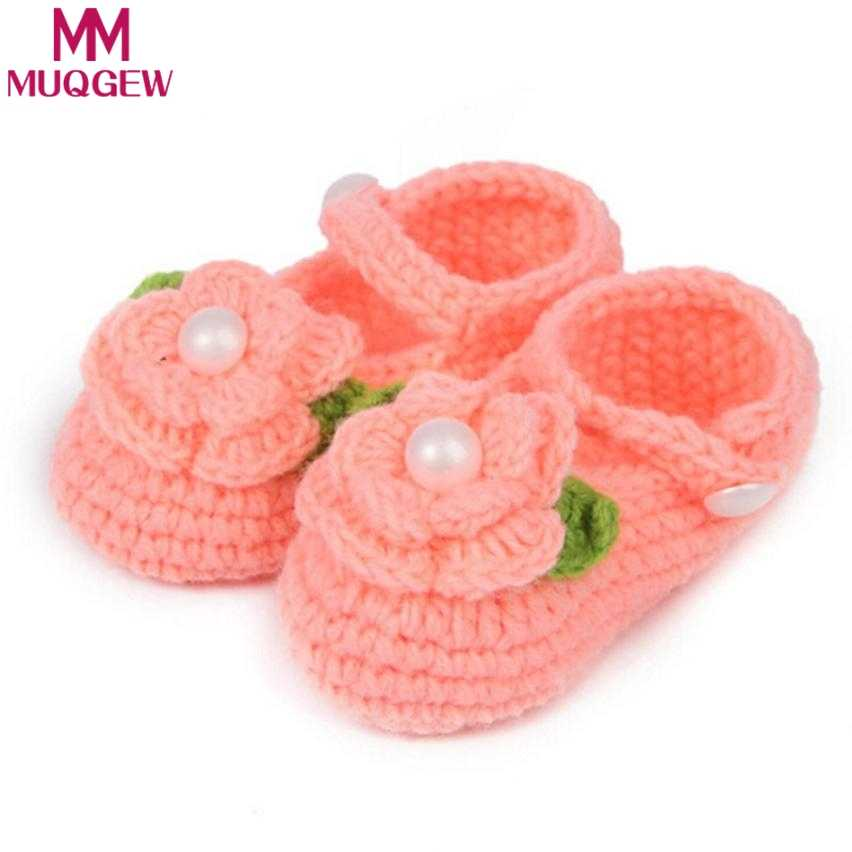 Detail Feedback Questions About Cute Crib Crochet Casual Baby Girls