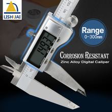 Promo offer 300mm Hardened Electronic Stainless Steel Digital Caliper Zinc alloy Vernier Calipers Corrosion Resistant