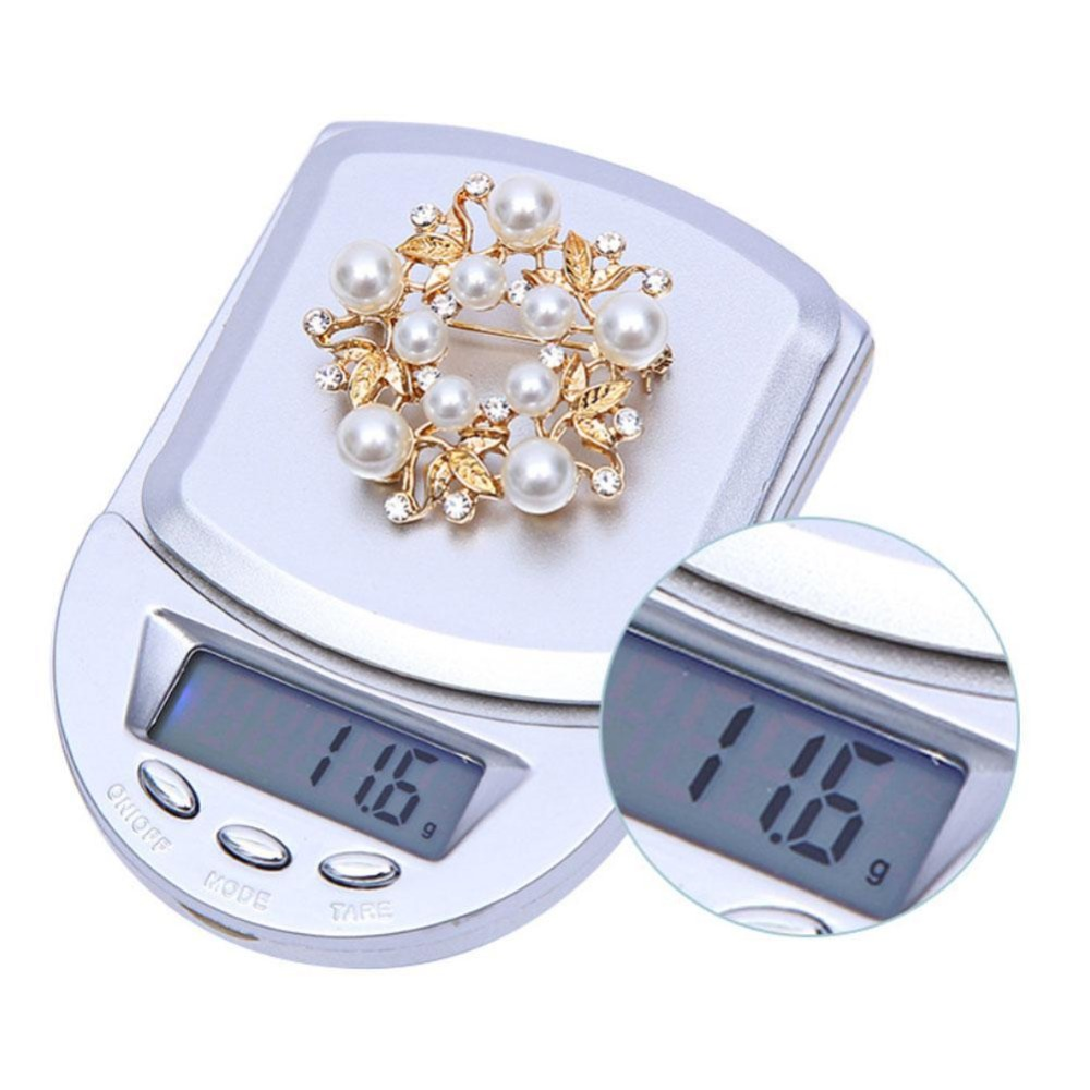 1000g x 0 1g Mini Electronic Digital Scales Metal Kitchen Scales Pocket Case Household Bake Balance Weight Scale Libra Dropship in Kitchen Scales from Home Garden