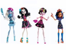 Classic Monster toys art class Original Doll Robecca Steam,Abbey Bominable,Draculaura,Skelita Calaveras high quality Toy to Girl