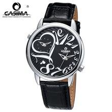 CASIMA люксовый бренд часы женщины моды случайные множественный часовой пояс женские кварцевые наручные часы кожаный ремешок водонепроницаемый #2602