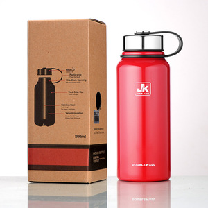 Image 5 - 600/800/1100/1500 Ml Double Wall Thermos Cup Roestvrijstalen Thermoskan Isolatie Fles Voor Water flessen Sport Shaker Mok