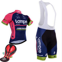 Outdoor Sport Ropa Maillot Ciclismo Clothes Jersey Lampre Merida Cycling Clothing Mtb Bike Bicycle Jersey Wear