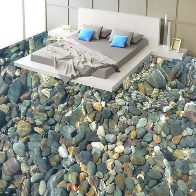 Online Shop Fototapete 3D Realistische Unterwasser Gepflasterten Boden Fliesen Wandbilder Badezimmer Wohnzimmer Selbstklebende Wasserdichte Vinyl Wandbild