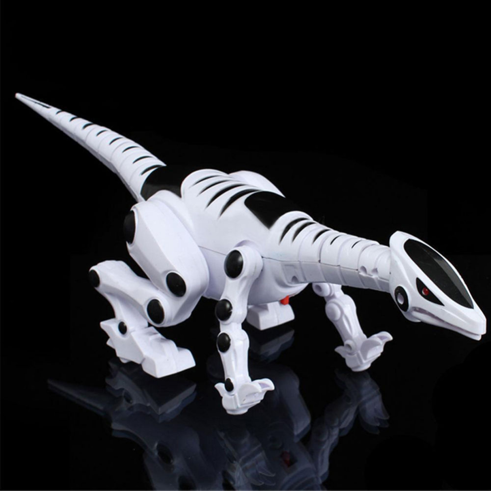 Electric Dinosaur Toy For Children Walking Robot Roaring Interactive Dinosaur With Music Light And Sound Effects Intelligent Toy