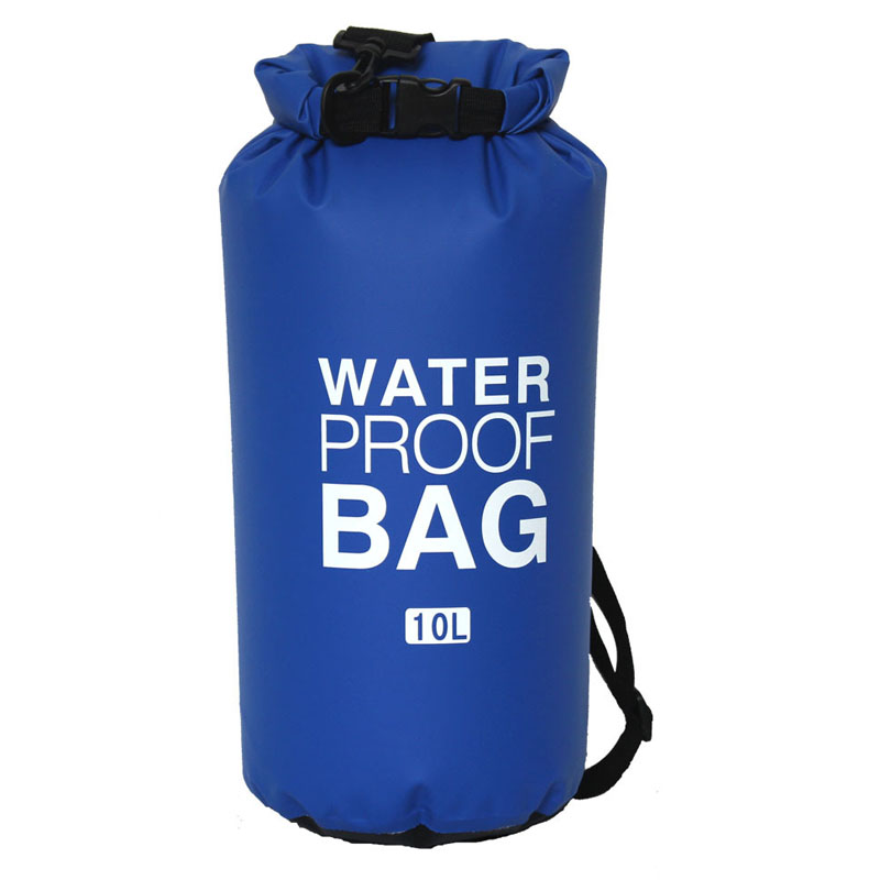 10L 20L Outdoor PVC Waterproof Bag Dry Bag Beach Swimming Rafting Sport Kayaking Canoeing Bag Travel Camping Sack Storage Bags