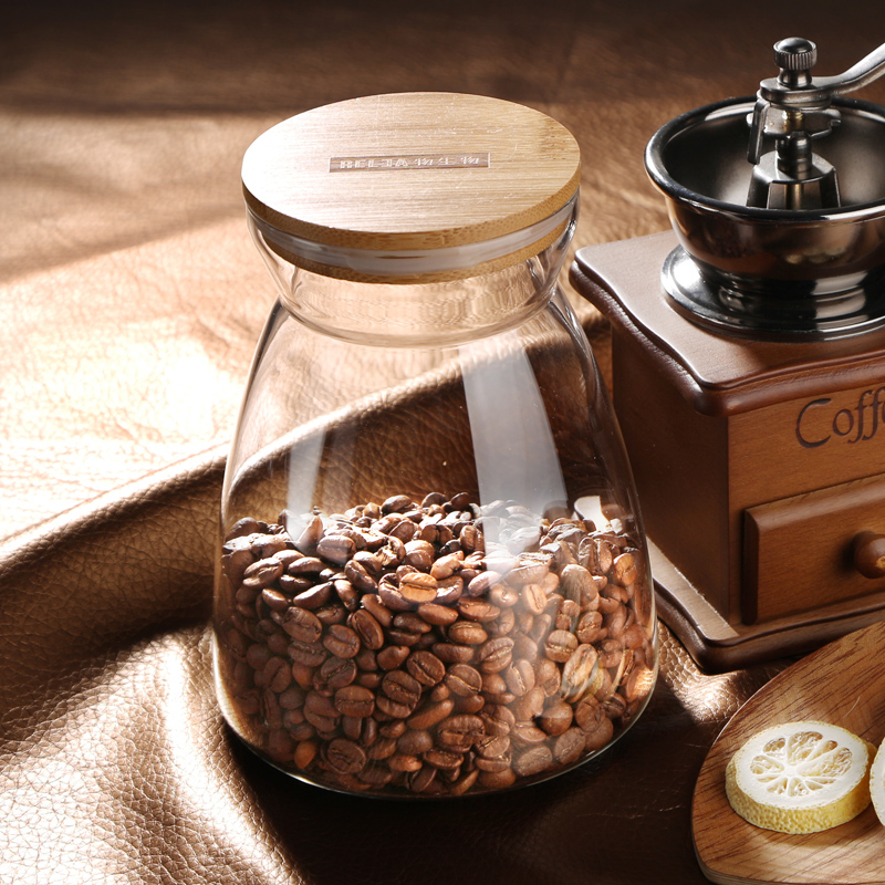 RELEA Brand Transparent Glass Jar Tea Dried Fruit Food Wine Storage Bottle Sealed Cans Storage Tank