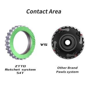 Image 2 - ZTTO MTB Ratchet 54T piasta hamulca tarczowego 32 H 32 otwór przez oś Quick Release XD HG Micro Spline Núcleo 142 12 100 135 uszczelnione łożysko