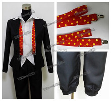Free shipping New Custom made High quality Tokyo Ghoul Suzuya Zyuzo Cosplay Costume for Halloween