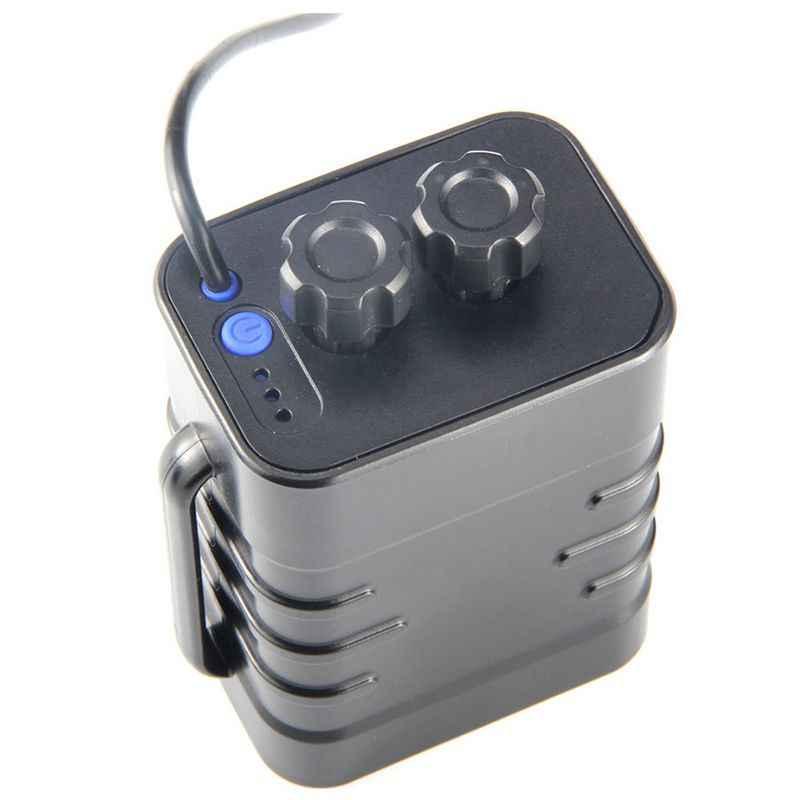 TOP ข้อเสนอ 6 ส่วน 18650 กันน้ำแบตเตอรี่ 18650 แพ็ค 5 VUSB/8.4VDC dual Interface 18650 แบตเตอรี่กันน้ำกล่อง